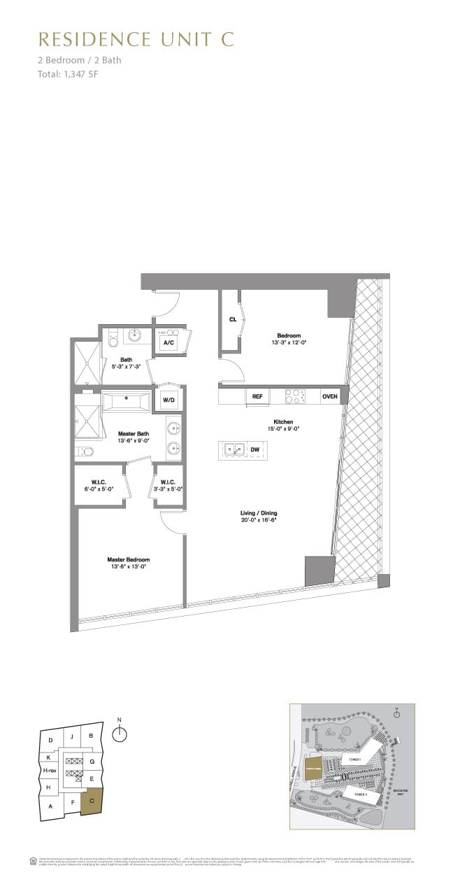 Icon brickell floor plans for Viceroy home plans